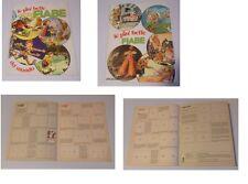 ALBUM LE PIU' BELLE FIABE DEL MONDO ED. D.N. 1977 QUASI VUOTO !!!