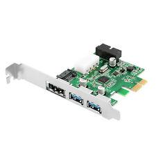 2 Ports USB 3.0 + eSATA 3.0 + SATA 3.0 + Pin Combo PCI-E Card Adapter 6.0Gbps