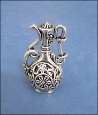 1/12 dolls house miniature Large Vase Filigree Ornament Table fireplace Rare LGW