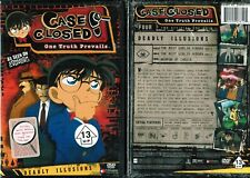 Case Closed Season 4 Vol 1 Deadly Illusions New Anime DVD Funimation Release