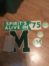 Milford Mill High School Varsity Letter,And Pins From 1975 Baltimore MD