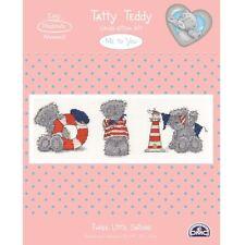 DMC Me to You Tatty Teddy Counted Cross Stitch Kit - Three Little Sailors