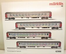 Märklin H0 42906 SJ-Schnellzugwagen-Set mit 4 Wagen   M68