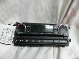08 09 Ford Taurus X Temperature Climate Control Switch AC Heat Temp 8F9318C612FA