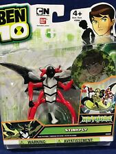 "New - STINKFLY - 4"" Ben 10 HAYWIRE Action Figure with LENTICULAR CARD Bandai"