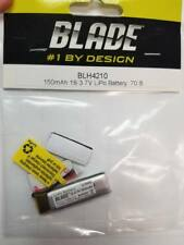 150mAh 1S 3.7V 45C LiPo Battery: 70S Blade Helicopter  BLH4210