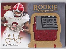 Julio Jones 2011 Exquisite Logo Tag Patch Autograph Rookie 32/99!