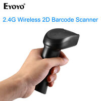 Eyoyo Bluetooth & 2.4G Wireless & Wired 2D Barcode Scanner for iPad Windows