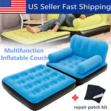 Portable Multi Max Inflatable Air Couch Double Bed Chair Sofa Camping Mattress