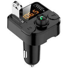 Wireless BT Car FM Transmitter USB Charger Adapter Stereo MP3 Player Universal