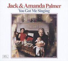 JACK & AMANDA PALMER Singing CD Leonard Cohen Kimya Dawson Sinead O'Connor NEW