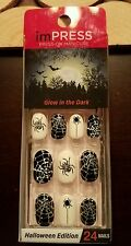 New imPRESS Glow in The Dark Halloween Edition Press-on Manicure So Bootiful