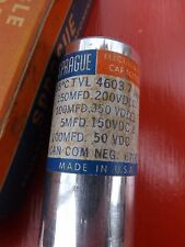 Vintage SPRAGUE Twist-Lok Capacitors for Tube Amplifiers tvls-4603.7
