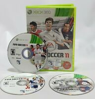 FIFA Soccer 10, 11 & 13 -- XBOX 360 Futbol Lot Football Bundle