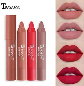 TEAYASON 12 Colors matte lipstick Lip Tint Lipstick Pen makeup waterproof beauty