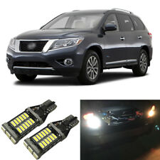 White LED 921 W16W Backup Reverse Light Bulbs For 1999-2018 Nissan Pathfinder