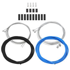 Complete Bike Bicycle Gear Brake Cable Kit  Front And Rear Set Inner Outer Wire