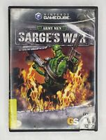 Army Men Sarge's War Nintendo GameCube 2004 Complete Tested