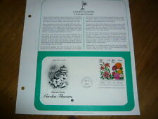 Collectable Lillys, Zinnias,Garden Flowers 2 stamps,29cent, 1st day issue 1994 !