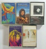 Robert Plant Cassette Tape Bundle (SEE DESCRIPTION FOR TITLES)