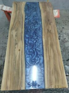 Epoxy Resin Live Edge River Dinning Table Top 35mm thickness (TOP ONLY)
