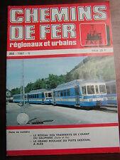 Chemins de fer secondaires 203 1987 TOD tramways l'Ouest Dauphiné tramways ALES