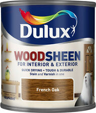 Dulux Woodsheen 250ml French Oak