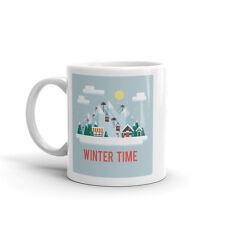 Tiempo de invierno de 10oz de alta calidad té café taza #7343