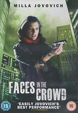 FACES IN THE CROWD - Milla Jovovich, Julian McMahon, Marianne Faithfull (DVD'12)