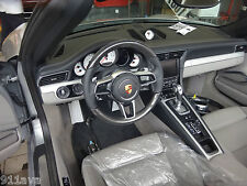 PORSCHE 991 GT 3 RS  NEW STYLE C F STEERING WHEEL & AIR B FIT 2012 -15 TURBO S