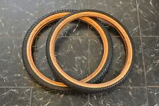 1980s Harry Leary Diamondback Turbo Comp 2 tire set Old School BMX Vintage bmx