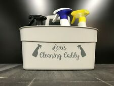 Cleaning Caddy Personalised Vinyl Label