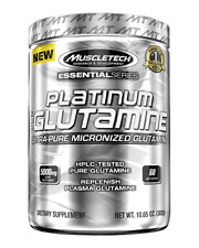 Muscletech Platinum Glutamine 302g (60 servings) Muscle Build & Rrecovery
