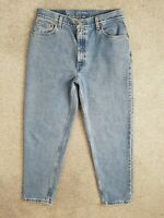 Vintage Levis 550 Relaxed Tapered High Waisted 90s Mom Jeans Size 12 W30 L28