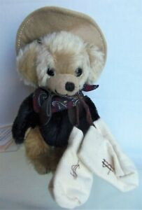 """Merrythought 6"""" FOURTYNINER Cheeky Mohair Bear, in Bag #153 / 250, Tide-Rider"""