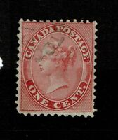 Canada SC# 14, Used, Hinge Remnant - S10781