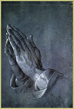 Albrecht Durer Praying Hands Jesus Christ Apostle Fine Art 8x10 Canvas Print