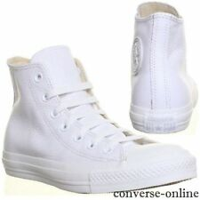 Converse Solid 100% Leather Trainers for Men