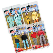 Jonny Quest Mego Style Action Figures Series 1: Set of all 4