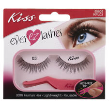 **LOOK 3 Packs** of Kiss Ever ez Lashes 55605 KPL03