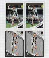 (4 LOT) 2018-19 Cristiano Ronaldo Panini Donruss Soccer #9 and Elite Series