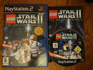 LEGO Star Wars II: The Original Trilogy (PS2) PEGI 3+ With Manual