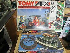 TOMY & AURORA AFX FORMULA 1 CHALLENGE (8678) & CAMARO CHALLENGE (8601) + EXTRAS