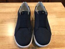 CLOUDSTEPPERS by Clarks Arla Sage Slip-On Sneakers Women's 9 W Navy 9W