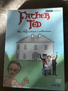 Father Ted - The Definitive Collection (DVD, 2008, 5-Disc Set) *Brand New Sealed