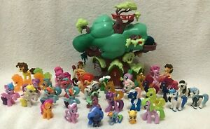 Hasbro MLP My Little Pony Friendship Is Magic G4 Mini Figure Lot Of 40 Toys