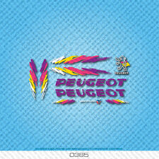 Peugeot Bicycle Decals - Transfers - Stickers - Set 385