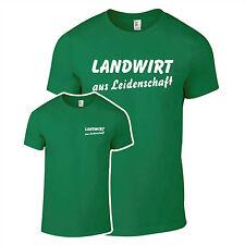 T-Shirt Landwirt aus Leidenschaft Bauernhof Bauer Farmer Farm Hof  Fun