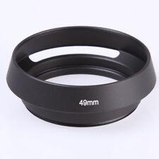 49mm Curved Vented Lens Hood for Leica M Voigtlander Zeiss 49 mm Filter Lens