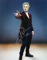 Peter Capaldi Signed 10X8 Photo DR WHO Genuine Autograph AFTAL COA (D)